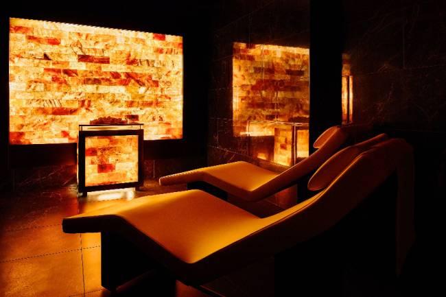 Relax del sale<br> Salt relax room<br> Salz Ruheraum