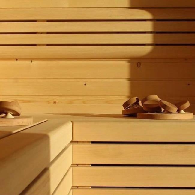 Sauna<br> Sauna<br> Sauna